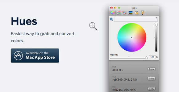 hues: essential software for designers