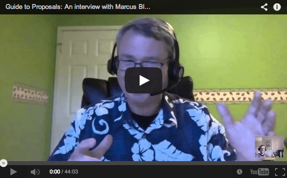 Interview with Marcus Blankenship