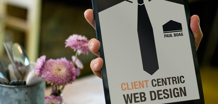 client centric web design by Paul Boag