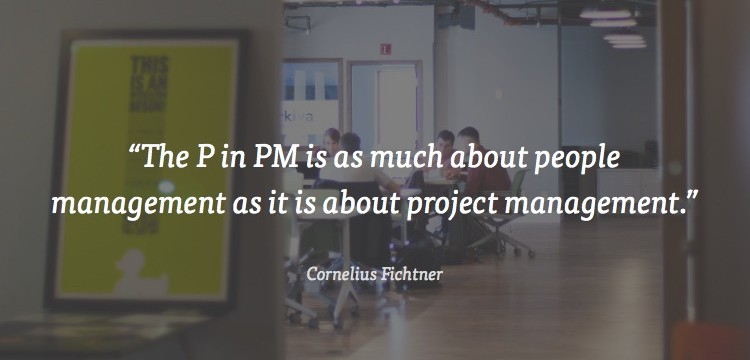 project management is about people